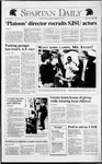 Spartan Daily, November 22, 1991 by San Jose State University, School of Journalism and Mass Communications