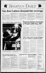 Spartan Daily, November 26, 1991