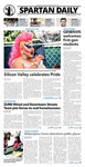 Spartan Daily, September 1, 2015 by San Jose State University, School of Journalism and Mass Communications