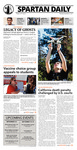 Spartan Daily, September 3, 2015 by San Jose State University, School of Journalism and Mass Communications