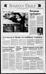 Spartan Daily, January 30, 1992 by San Jose State University, School of Journalism and Mass Communications