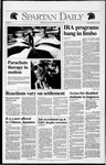 Spartan Daily, January 31, 1992 by San Jose State University, School of Journalism and Mass Communications
