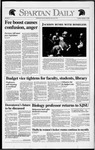 Spartan Daily, February 4, 1992 by San Jose State University, School of Journalism and Mass Communications
