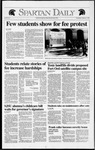 Spartan Daily, February 5, 1992 by San Jose State University, School of Journalism and Mass Communications
