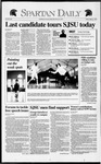 Spartan Daily, March 6, 1992 by San Jose State University, School of Journalism and Mass Communications