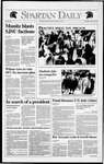 Spartan Daily, March 19, 1992 by San Jose State University, School of Journalism and Mass Communications
