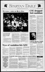 Spartan Daily, March 25, 1992 by San Jose State University, School of Journalism and Mass Communications