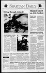 Spartan Daily, March 26, 1992 by San Jose State University, School of Journalism and Mass Communications