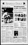 Spartan Daily, March 27, 1992 by San Jose State University, School of Journalism and Mass Communications
