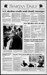 Spartan Daily, March 30, 1992 by San Jose State University, School of Journalism and Mass Communications
