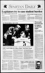 Spartan Daily, March 31, 1992 by San Jose State University, School of Journalism and Mass Communications