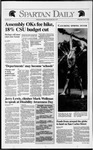 Spartan Daily, April 8, 1992 by San Jose State University, School of Journalism and Mass Communications