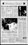 Spartan Daily, April 10, 1992 by San Jose State University, School of Journalism and Mass Communications