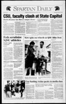 Spartan Daily, April 29, 1992 by San Jose State University, School of Journalism and Mass Communications