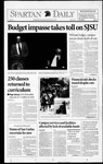 Spartan Daily, August 26, 1992 by San Jose State University, School of Journalism and Mass Communications