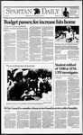 Spartan Daily, September 3, 1992 by San Jose State University, School of Journalism and Mass Communications