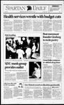 Spartan Daily, September 18, 1992 by San Jose State University, School of Journalism and Mass Communications