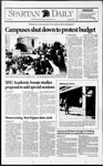 Spartan Daily, September 25, 1992 by San Jose State University, School of Journalism and Mass Communications