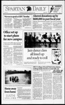 Spartan Daily, October 5, 1992 by San Jose State University, School of Journalism and Mass Communications