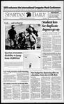 Spartan Daily, October 12, 1992