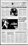 Spartan Daily, October 16, 1992 by San Jose State University, School of Journalism and Mass Communications