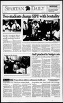Spartan Daily, October 19, 1992 by San Jose State University, School of Journalism and Mass Communications
