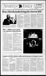 Spartan Daily, October 20, 1992 by San Jose State University, School of Journalism and Mass Communications