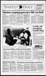 Spartan Daily, October 26, 1992 by San Jose State University, School of Journalism and Mass Communications