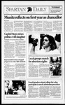 Spartan Daily, October 27, 1992 by San Jose State University, School of Journalism and Mass Communications