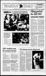Spartan Daily, November 3, 1992 by San Jose State University, School of Journalism and Mass Communications