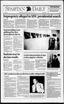Spartan Daily, November 5, 1992 by San Jose State University, School of Journalism and Mass Communications