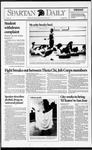Spartan Daily, November 6, 1992 by San Jose State University, School of Journalism and Mass Communications