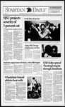 Spartan Daily, November 25, 1992 by San Jose State University, School of Journalism and Mass Communications