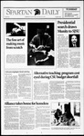 Spartan Daily, December 1, 1992 by San Jose State University, School of Journalism and Mass Communications