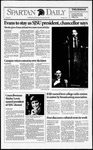 Spartan Daily, December 3, 1992 by San Jose State University, School of Journalism and Mass Communications