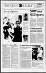 Spartan Daily, February 5, 1993 by San Jose State University, School of Journalism and Mass Communications