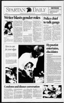 Spartan Daily, February 8, 1993 by San Jose State University, School of Journalism and Mass Communications