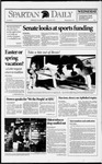 Spartan Daily, March 3, 1993 by San Jose State University, School of Journalism and Mass Communications