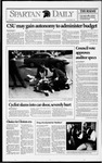 Spartan Daily, March 4, 1993 by San Jose State University, School of Journalism and Mass Communications