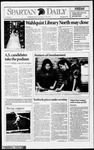 Spartan Daily, March 12, 1993 by San Jose State University, School of Journalism and Mass Communications