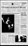 Spartan Daily, March 18, 1993 by San Jose State University, School of Journalism and Mass Communications