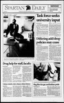 Spartan Daily, April 12, 1993 by San Jose State University, School of Journalism and Mass Communications