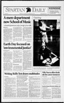 Spartan Daily, April 21, 1993 by San Jose State University, School of Journalism and Mass Communications