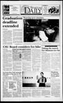 Spartan Daily, September 30, 1993 by San Jose State University, School of Journalism and Mass Communications