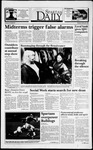 Spartan Daily, October 25, 1993 by San Jose State University, School of Journalism and Mass Communications