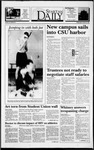 Spartan Daily, October 27, 1993 by San Jose State University, School of Journalism and Mass Communications
