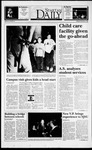 Spartan Daily, November 1, 1993 by San Jose State University, School of Journalism and Mass Communications