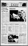 Spartan Daily, November 3, 1993 by San Jose State University, School of Journalism and Mass Communications