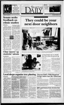 Spartan Daily, November 4, 1993 by San Jose State University, School of Journalism and Mass Communications