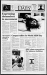 Spartan Daily, December 1, 1993 by San Jose State University, School of Journalism and Mass Communications